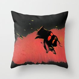 The Beetle Throw Pillow