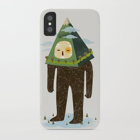 The Man Mountain iPhone Case