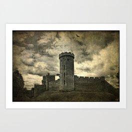 Castle Warwick Art Print