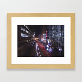Tunnels and Trails Framed Art Print