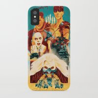 mad max iPhone & iPod Cases featuring Mad Max by marclafon