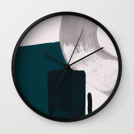 minimalist painting 02 Wall Clock