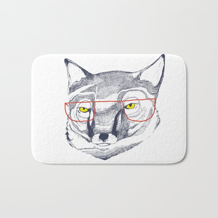Mr Fox Bath Mat