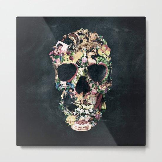 Vintage Skull Metal Print