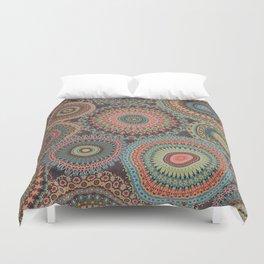 Boho Patchwork-Vintage colors Duvet Cover