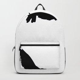 FLYING BLACK CROWS GREY-BLACK ART Backpack
