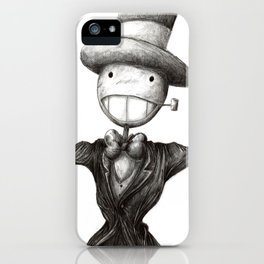 Mr. Turnip Head iPhone Case