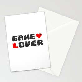 Gamer Saying Gaming Gift  Console Geek Player Stationery Cards