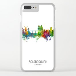 Scarborough England Skyline Clear iPhone Case