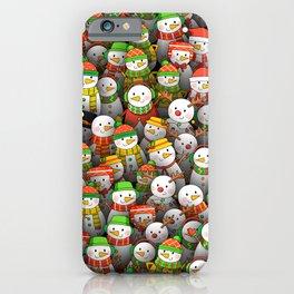 Snowmen iPhone Case