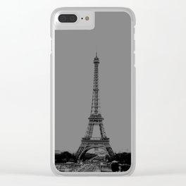 Paris Eiffel Tower Series III by Billy Bernie Clear iPhone Case