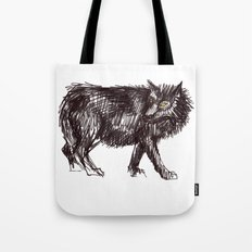 In Every Story the Wolf Comes At Last Tote Bag