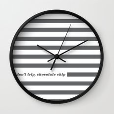 Don't Trip Wall Clock
