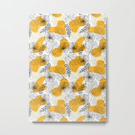Tropical Pattern1 Metal Print