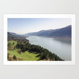 The Columbia River Gorge IV Art Print