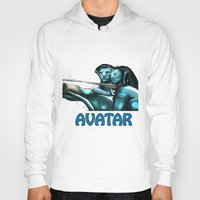avatar Hoodies featuring Avatar by Dano77
