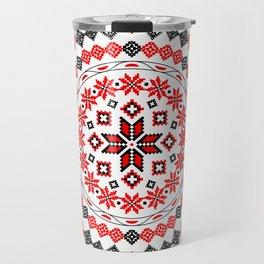 Romanian Mandala Travel Mug