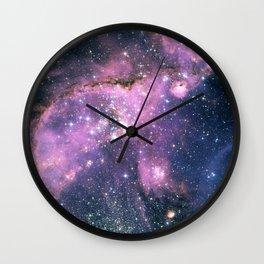 Small magellanic cloud Wall Clock