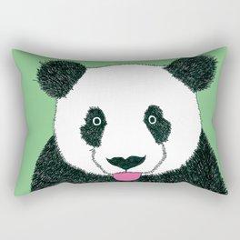 Panda Selfie Rectangular Pillow