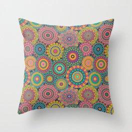 Kaleido-Eden colors Throw Pillow