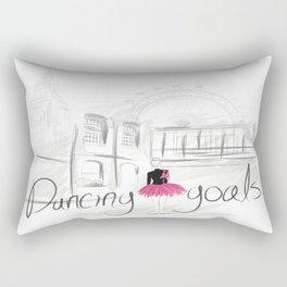 Dancing goals Rectangular Pillow