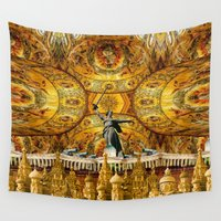 russia Wall Tapestries featuring HISTORICAL RUSSIA by sametsevincer