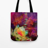 astrology Tote Bags featuring Astrology by shiva camille