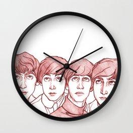 Fab4 Wall Clock