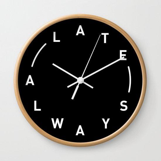 Always Late by rasmusnielsen