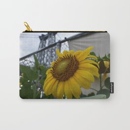 Flowers under the Bridge Carry-All Pouch