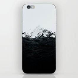 Those waves were like mountains iPhone Skin