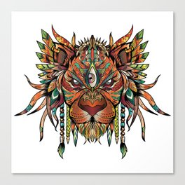 Majestic Lion Canvas Print