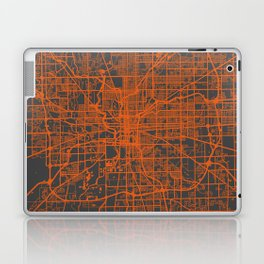 Indianapolis map Laptop & iPad Skin
