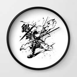 The Founder of Gintama Anime - Sakata Gintoki Wall Clock