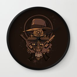 Fortune & Glory Wall Clock