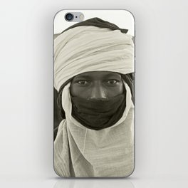 'African pride' - Mohamed from Timbuktu iPhone Skin