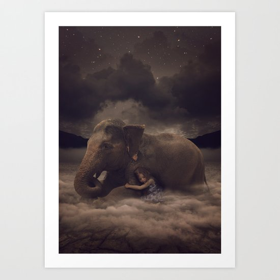 Having a Soft Heart In a Cruel World II Art Print
