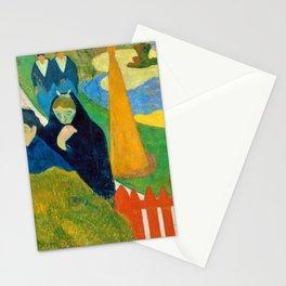 Paul Gauguin - Arlesiennes, Mistral - Digital Remastered Edition Stationery Cards