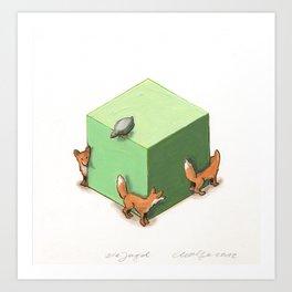 The Hunt (Die Jagd) Art Print
