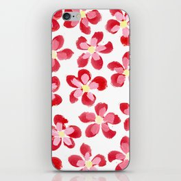 Posey Power - Red Multi iPhone Skin