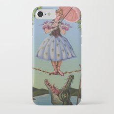 Haunted Mansion Portrait: Trapeze Girl Slim Case iPhone 7