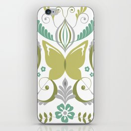 Butterfly Damask - Spring Mod iPhone Skin