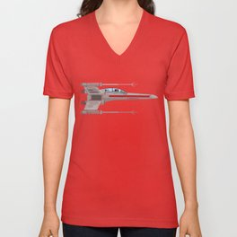 Red Leader to Goose, It's A TRAP! Unisex V-Neck