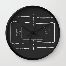 Welcome mat deployed I Wall Clock