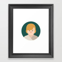 Luke Skywalker Framed Art Print
