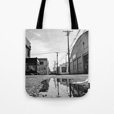 Scenic alleyway Tote Bag