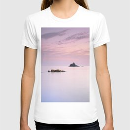 San Cristobal Reefs At Sunset . T-shirt