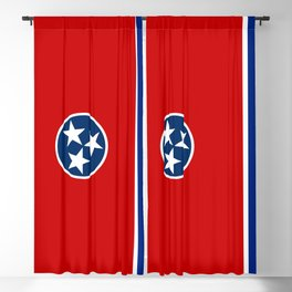 Tennessee State flag Blackout Curtain