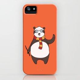 Wizard Panda iPhone Case