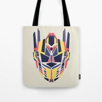 transformer Tote Bags featuring Prime by Fimbis